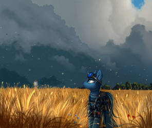 Before the rain by Pony-Way