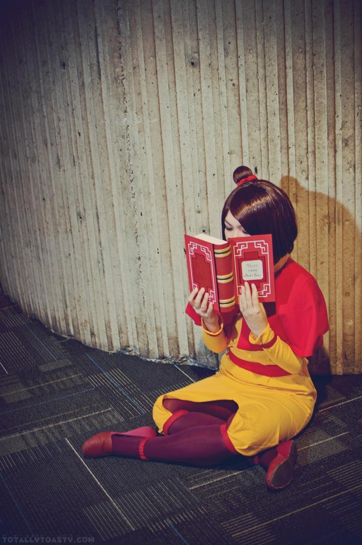 The Bookish Bender by hiyoko-chan