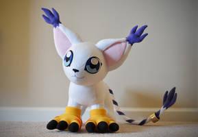 Gatomon Plushie - Digimon Adventures