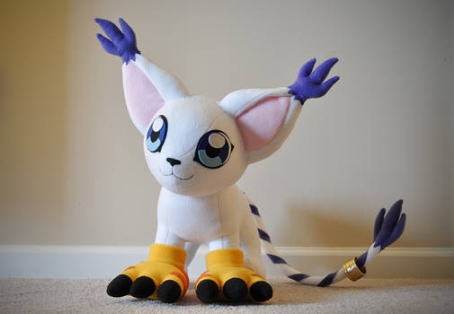 Gatomon Plushie - Digimon Adventures