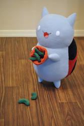 Sugar Peas - Catbug Plush - Bravest Warriors by hiyoko-chan