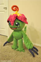 Palmon Plush - Digimon Adventures by hiyoko-chan