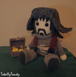 Bofur Plushie - The Hobbit by hiyoko-chan