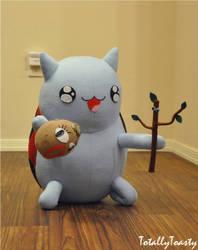 Dramabug Catbug plush - Bravest Warriors by hiyoko-chan
