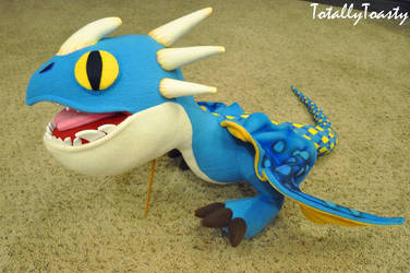 Deadly Nadder Plush  How To Train Your Dragon by hiyoko-chan