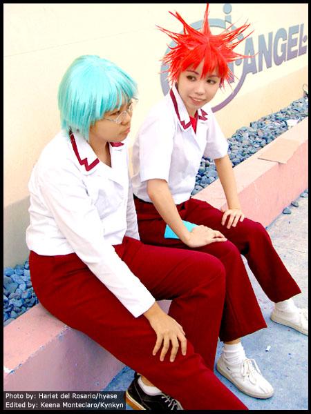 DNAngel - Satoshi and Daisuke by Kynkyn