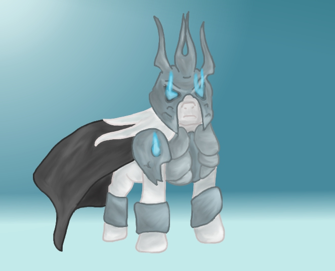 Lich King - Pony Final Version by N30Exca on DeviantArt