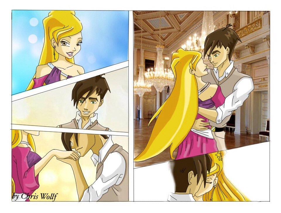Stella And Brandon Comics By ChrisWollf On DeviantArt