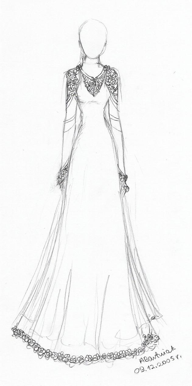 Wedding Dress By En B On Deviantart
