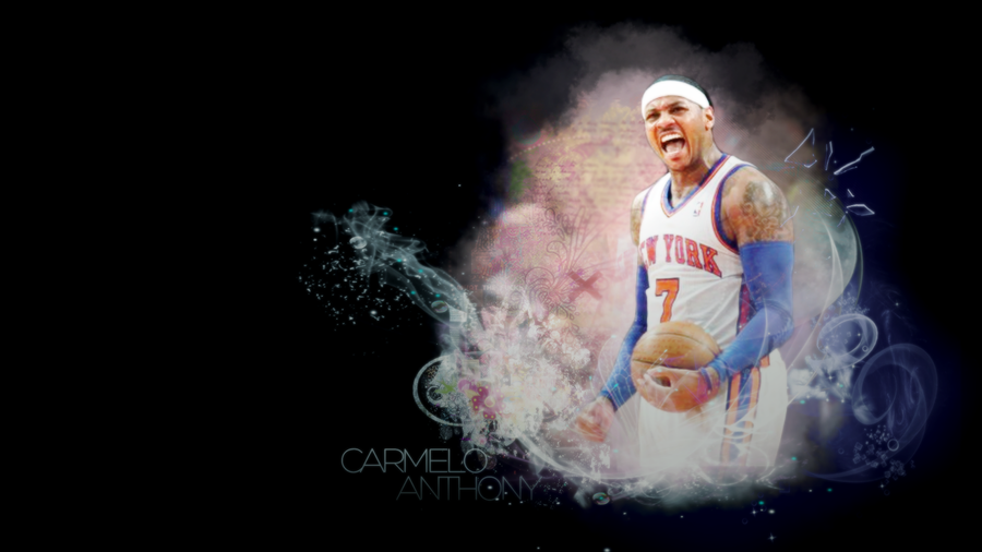 Carmelo anthony wallpaper by kawaiixbby on deviantart carmelo anthony wallpaper by kawaiixbby voltagebd Images