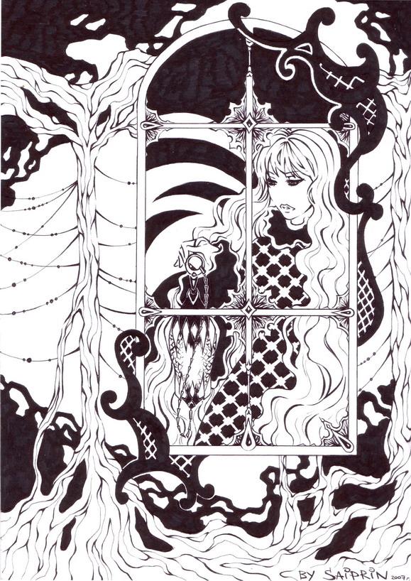 Alice in wonderland by Saiprin