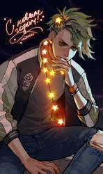 Christmas tree boy by Saiprin