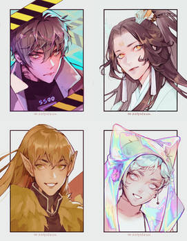 4 sketch commissions 01