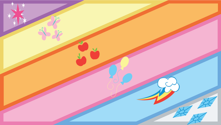 MLP wallpaper by sircinnamon
