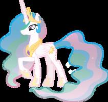 Princess Celestia by sircinnamon
