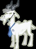 A goat by sircinnamon