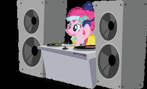 DJ Pink-E by sircinnamon