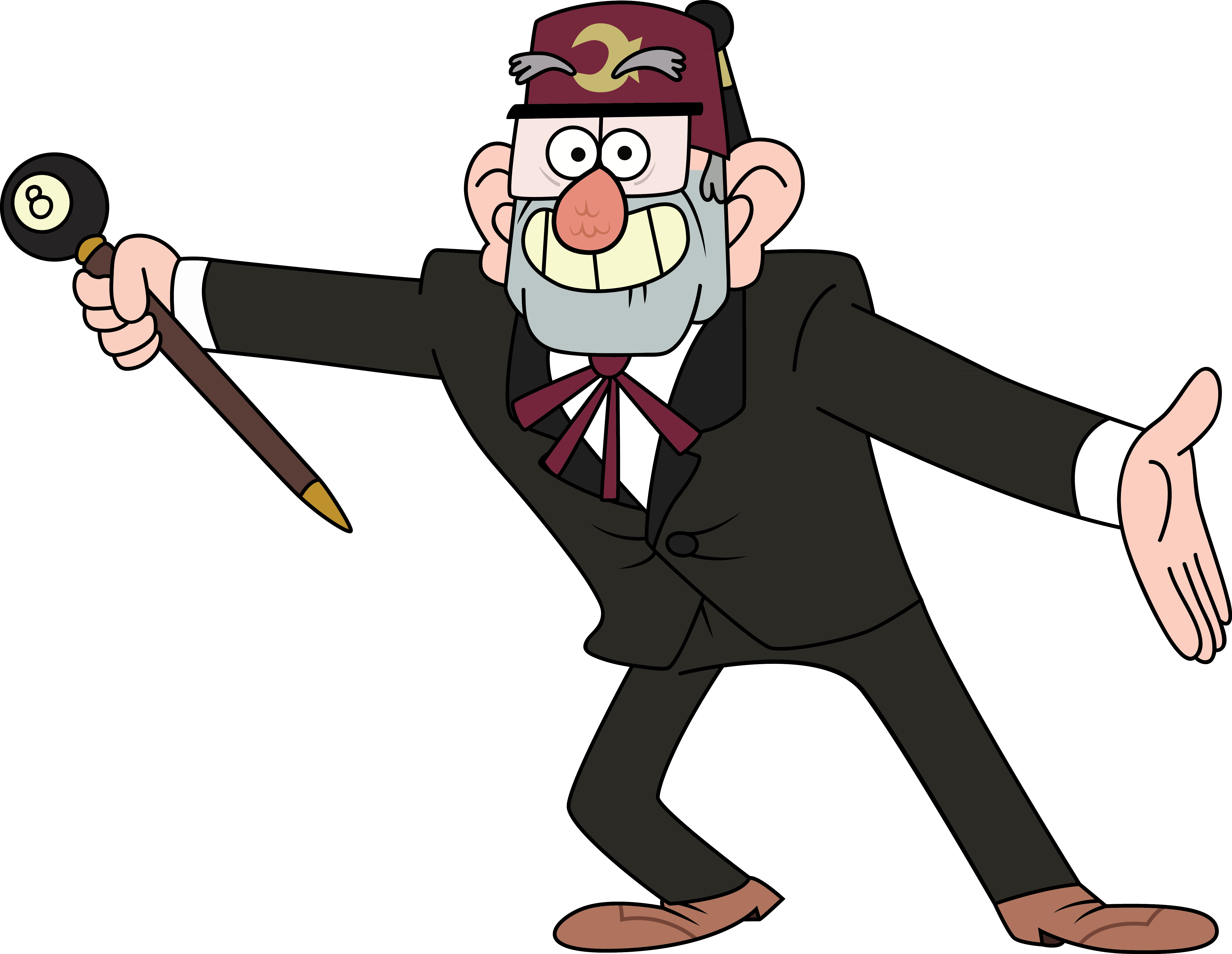 Grunkle Stan by sircinnamon