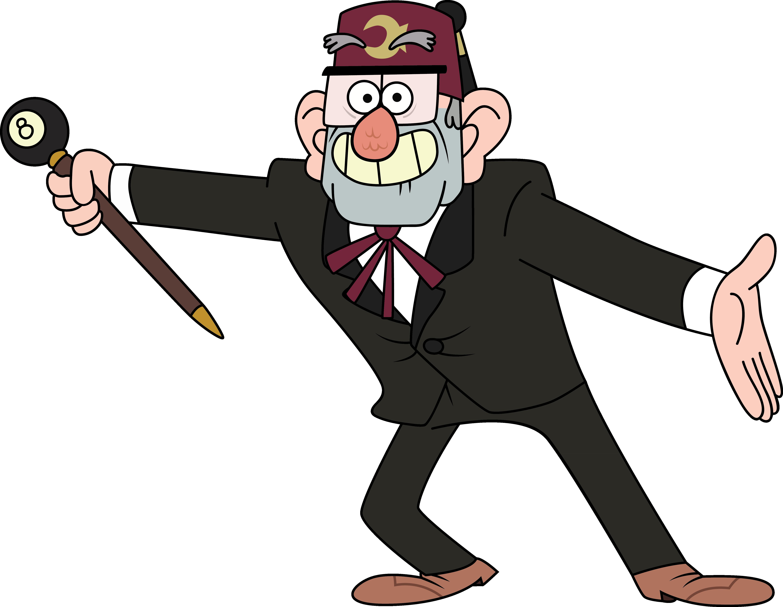 Grunkle Stan by sircinnamon