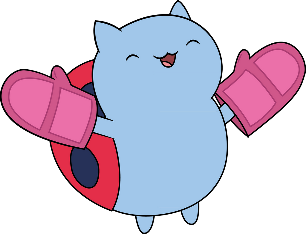 Catbug with Mitts by sircinnamon