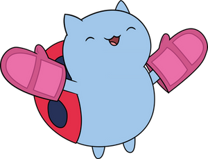 Catbug with Mitts