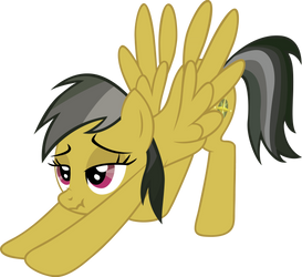 Daring Do Stretch by sircinnamon