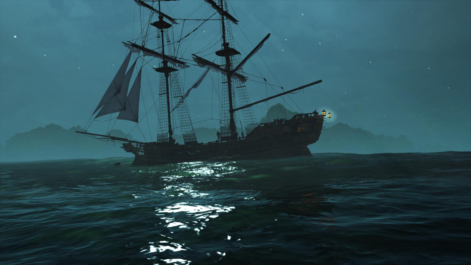 Assassins Creed Iv Black Flag Jackdaw At Night By Saurabh001 On