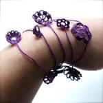 Purple Delicate Necklace