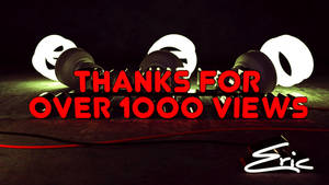 Thanks for over 1000 Views