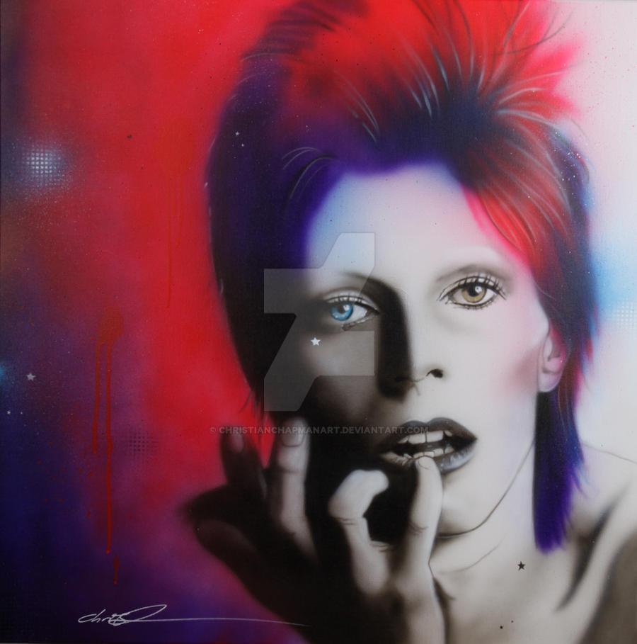 'Ziggy Stardust' by christianchapmanart