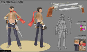 The Bladeslinger - Lowpoly