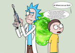 Rick and Morty - Fourth Wall Break.