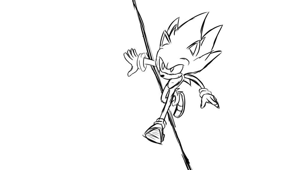 Sonic77 by JamoArt