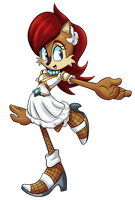 Princess Sally Acorn by JamoART