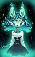 Relena the trapped spirit by JamoART