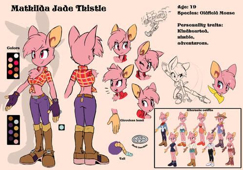 Mathilda Jade Thistle - Character reference