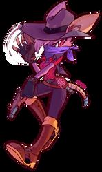 Gunslinger Mathilda by JamoART