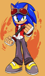 Tides of Chaos Sonic (COM) by JamoART