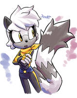 First Tangle of 2019 by JamoART