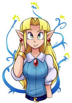 Zelda by JamoART