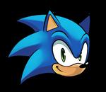 Sonic head by JamoART
