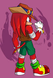 Tides of Chaos Knuckles (COM) by JamoART