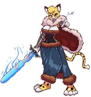 COMM - Beda the Cheetah