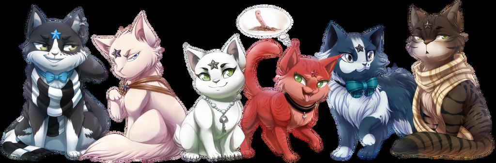 Com: Dem Guardian Cats: Part Dos! by DragginCat