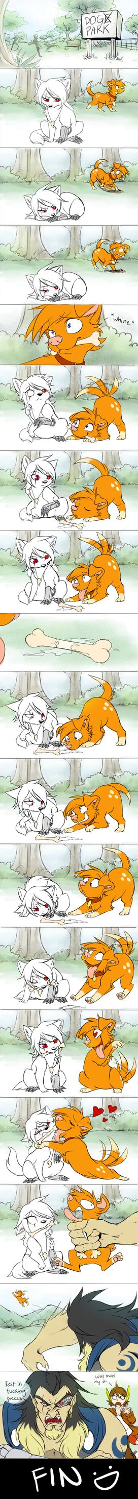 OTP Part 3: Animal Edition by DragginCat