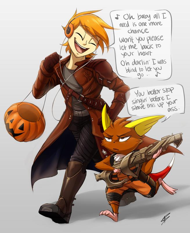 Obligatory Halloween Pic by DragginCat
