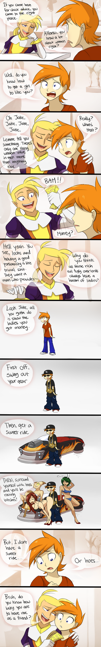 OTP Part 6: Jake Seeks Advice (part 1/2) by DragginCat
