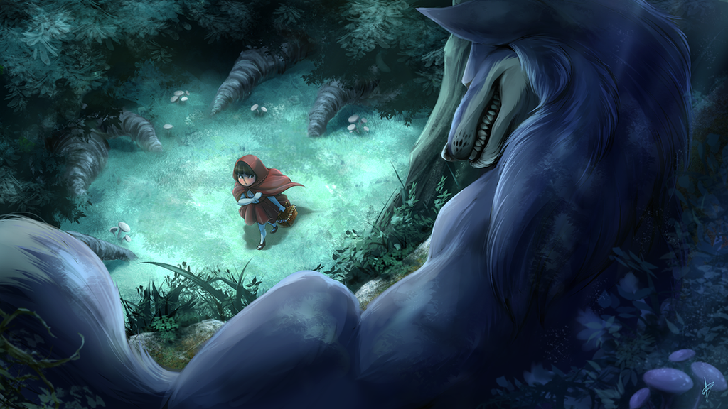 Little Red Riding Hood by DragginCat