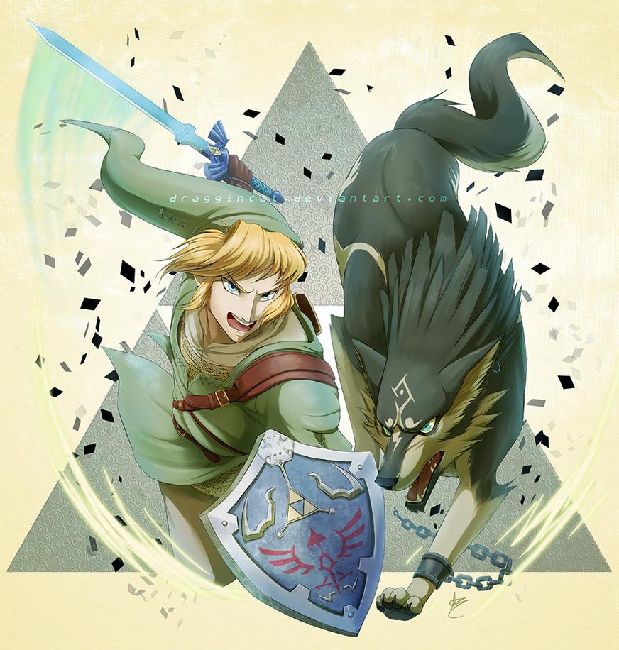 Wolf Link Twilight Princess Fan Art