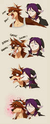 How to Calm Down Your Angry Dog Boyfriend by Seyumei